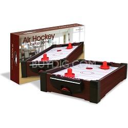 TableTop Premier Edition Burgundy '1 on 1' Air Hockey Game (2489)