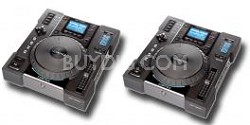 Pair of 2 HDTT-5000 Digital Music Turntables