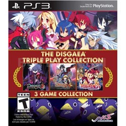 Disgaea Triple Play Cllctn PS3