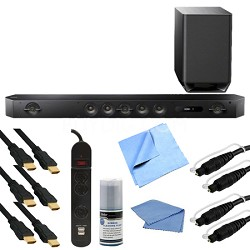 HT-ST9 Hi-Res 7.1 Channel Sound Bar with Wireless Subwoofer Bundle