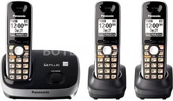 KX-TG6513B DECT 6.0 PLUS Expandable Digital Cordless Phone