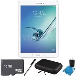 Galaxy Tab S2 9.7-inch Wi-Fi Tablet (White/32GB) 16GB MicroSD Card Bundle