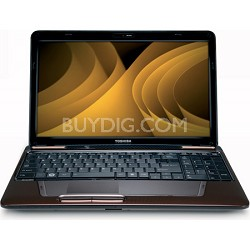"Satellite 15.6"" L655-S5156BN Notebook PC - Brown Intel Pentium P6200 Processor"