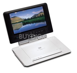 "SD-P93S Portable DVD Player w/ 9"" LCD Swivel Display"