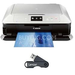 PIXMA MG7520 Color Wireless All-in-One Inkjet Printer - White + 32GB USB Drive