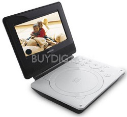 SDP74S 7-Inch Portable White DVD Player