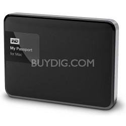 My Passport for MAC 1 TB Hard Drive, Black/Silver