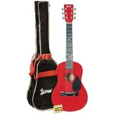 "LAPKMBL 30"" Student Acoustic/Electric Guitar Package - Metallic Red"