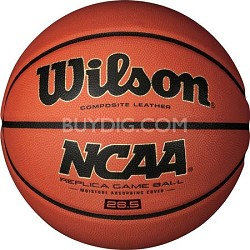 """NCAA Replica Game Ball 28.5"""" Basketball"""