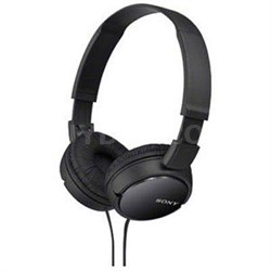 Studio Monitor Headphones in Black - MDR-ZX110BLK