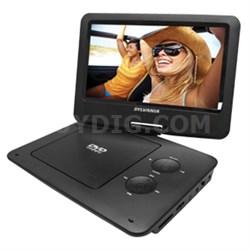 "SDVD9020-B 9"" Swivel Screen Portable DVD/CD/MP3 Player"