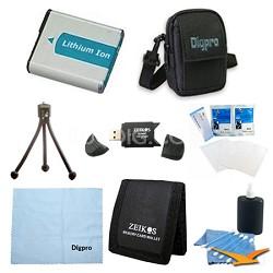 Loaded Value EN-EL19 Battery Kit for Nikon S4300, S3700, ETC