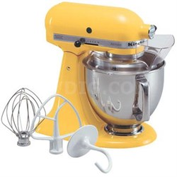 Artisan Series 5-Quart Tilt-Head Stand Mixer in Buttercup - KSM150PSBF