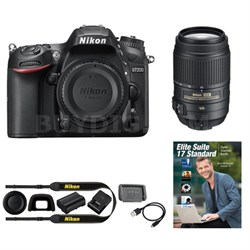 D7200 DX 24.2MP Digital SLR Camera with 55-300mm VR - Manufacturer Refurbished