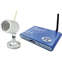 Blue Alert Movement Video Recorder Security Kit (SW244WBW)
