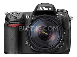 D300 12MP DX D-SLR Camera Outfit w/ 18-135mm Lens + Free 4GB Card