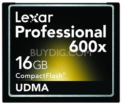 16 GB Professional UDMA 600X CompactFlash Card