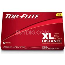 Top Flite XL Distance White Golf Ball - 15 Pack 610654815