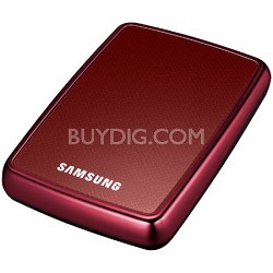 HX-MU010EA/G42 - HDD S2 Portable External 1 TB Hard Drive (Red)