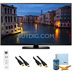 60PB6650 - 60-Inch Full HD 1080p 600Hz Smart Plasma TV Plus Hook-Up Bundle