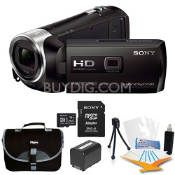 HDR-PJ275/B Full HD 60p Camcorder w/ built-in Projector Kit