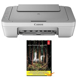 PIXMA MG2420 Inkjet All-In-One Photo Printer (8328B002AA) w/ Photoshop Lightroom