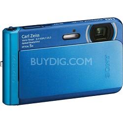 DSC-TX30/L Blue 18.2MP Water, Dust, Freeze, and Shockproof Digital Camera
