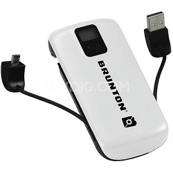 Metal 4400 mAh, 3x Charges (White) - F-METAL-WH