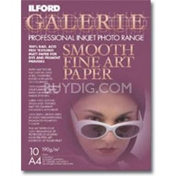 Smooth Fine Art 13 x 19 Photo Paper - 10 Pack