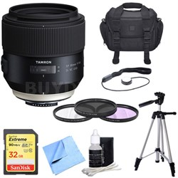 SP 85mm f1.8 Di VC USD Lens for Sony Sony A-Mount with Bundle