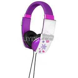 Erasable Doodle Headphones - Purple