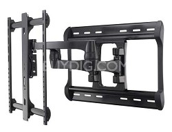 "XF228 - HDpro Full-motion Dual Arm Mount, 42"" - 84"" TVs, Extends 28"" from wall"
