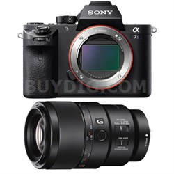 a7S II Full-frame Mirrorless Interchangeable Lens Camera Body 90mm Lens Bundle