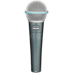 BETA 58A Supercardioid Dynamic Microphone with High Output Neodymium Element