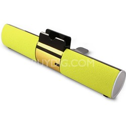 Concept Yellow Bluetooth Speaker Bar with Dock For Smartphone or Tablet