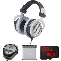 DT 990 Premium Headphones 32 OHM - 483958 w/ FiiO A1 Amp. Bundle