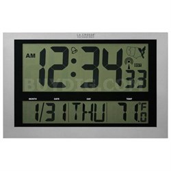 Atomic Clock with Thermometer - 513-1211