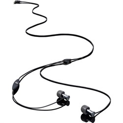 Tio Aluminum High Performance In-Ear Headphones with Microphone, Remote, Case