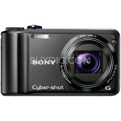 Cyber-shot DSC-H55 14.1 MP Digital Camera (Black) - REFURBISHED
