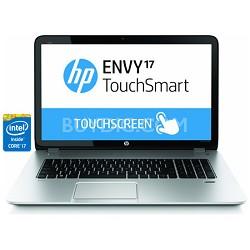 "Envy TouchSmart 17.3"" 17-j130us Notebook PC- Intel Core i7-4700MQ Pro - OPEN BOX"