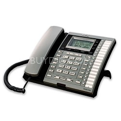 4-Line Corded Business Phone with Call Waiting,Caller ID & Digital Answering Sys