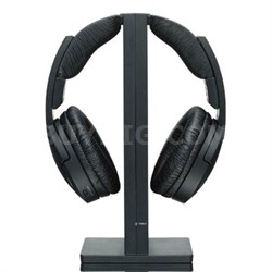 RF985RK Wireless RF Headphones - Black