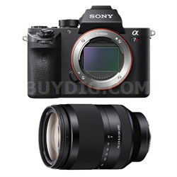 a7R II Mirrorless Interchangeable Lens Camera Body with 24-240mm Lens Bundle