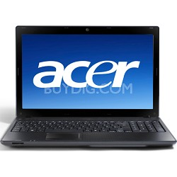 "Aspire 15.6"" Notebook Computer (AS5742-7120) Intel Core i3-370M Processo"