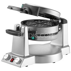 Breakfast Express WMR300 Belgian Waffle & Omelet Maker - Brushed Stainless Steel