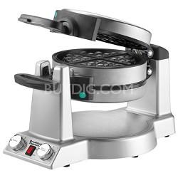 Breakfast Express WMR300 Belgian Waffle & Omelet Maker - Brushed Stainless Steel