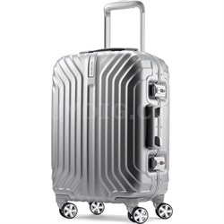 "Tru-Frame Hard Shell Carry-On Matte Silver 20"" Spinner Suitcase"