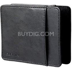 Black Leather Carrying Case 010-10723-02  Nuvi Series Travel Assistant