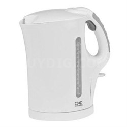 57oz electric kettle white