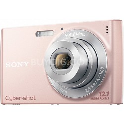 Cyber-shot DSC-W510 Pink Digital Camera
